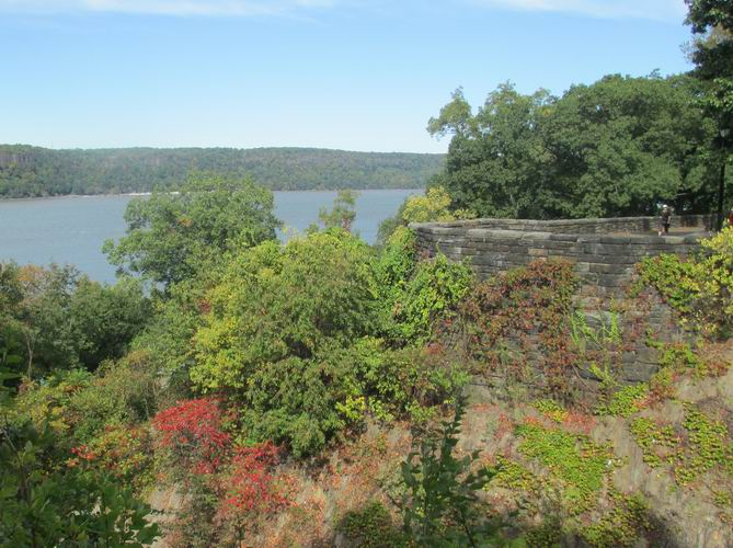 Changing colors in Fort Tryon Park