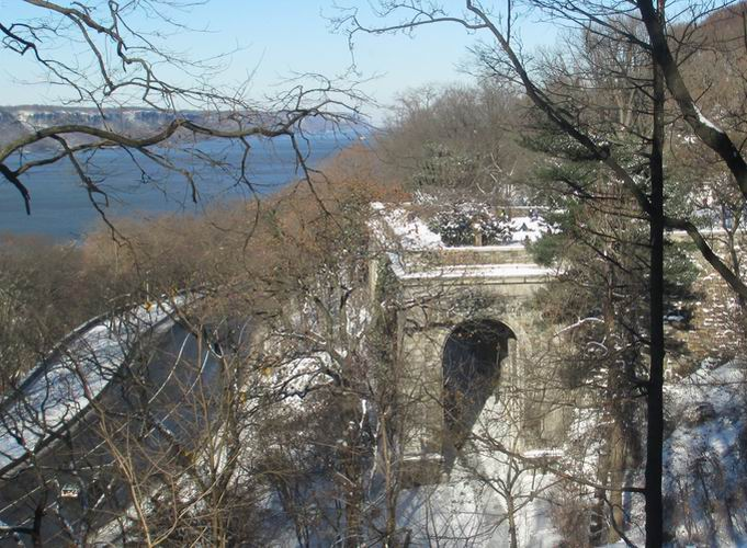 Winter in Ft. Tryon Park