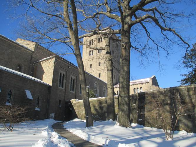 The Cloisters Museum in Ft. Tryon Park